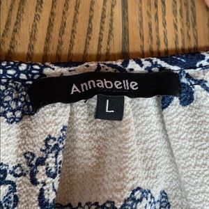 Annabelle Tops - Summer peak a boo sleeve blouse